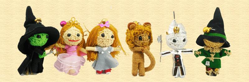 Wizard of OZ String Dolls
