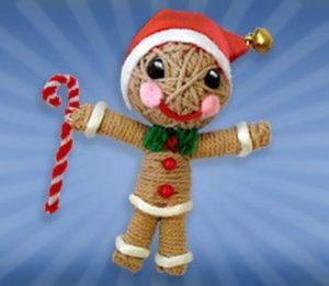 Christmas String Doll