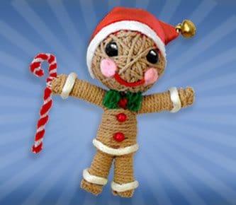 Gingerbread man String Doll